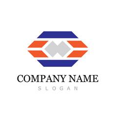 square speed company logo vector image