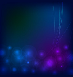 abstract lights background vector image
