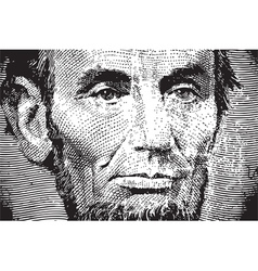 Lincoln vector image