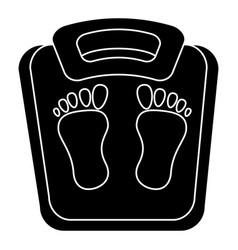 scale weight measure icon vector image vector image