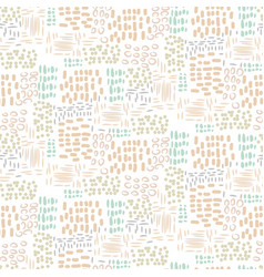 abstract seamless stitch dotted pattern vector image