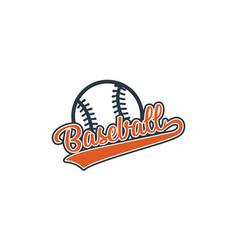 Baseball and icon vector