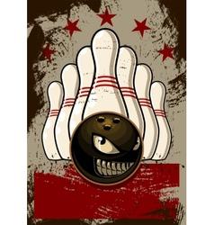 Bowling Mascot vector image