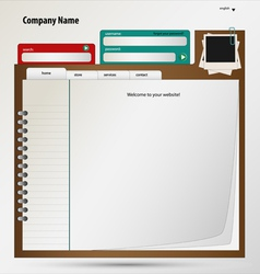 Business web vector