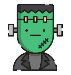 Frankenstein linecolor vector
