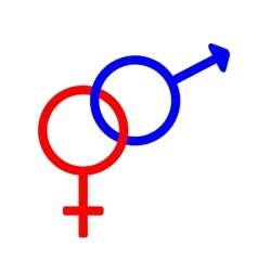 Gender sign 3207 vector image