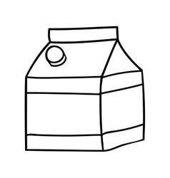 Milk icon image vector