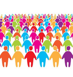 people group vector image