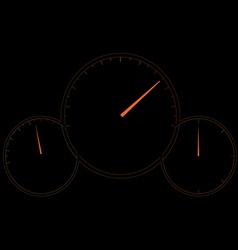 Speedometer design vector