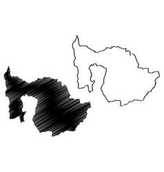 Zug map vector