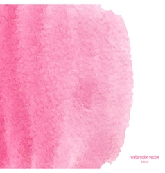 pink watercolor squarer background vector image vector image