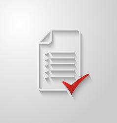 Check list icon 3 vector image