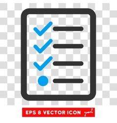 Checklist Eps Icon vector