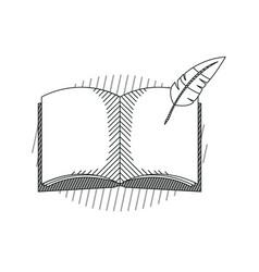 hand draw education cartoons vector image