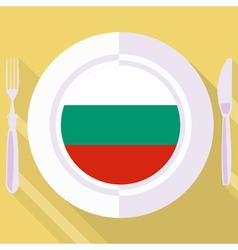 Kitchen of Bulgaria vector