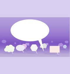 leader of public opinion symbol of discussion vector image