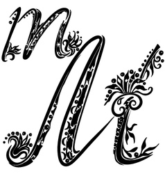 Tattoo Letter M Vector Images 84