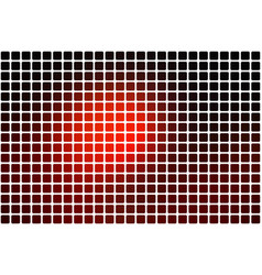 red brown black abstract rounded mosaic vector image