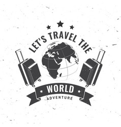 world is a book and those who do not travel vector image