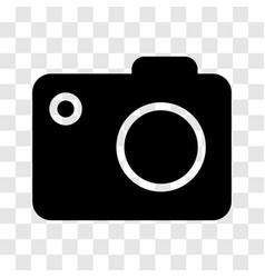 camera icon - iconic design vector image
