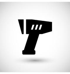 Modern pyrometer icon vector image vector image