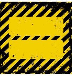 danger area vector image