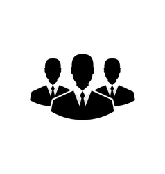 team icon community business people - vector image