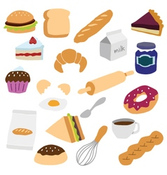 bakery object vector image
