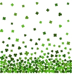 Horizontal seamless pattern for St Patricks day vector