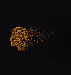 Human head destruction vector