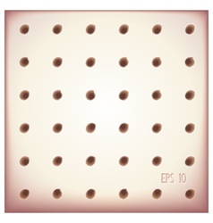 Tiles with holes in rows vector image