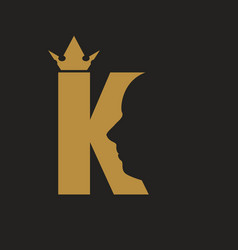 King royal luxury vector