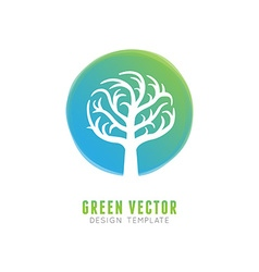 Tree logo concept and design element vector