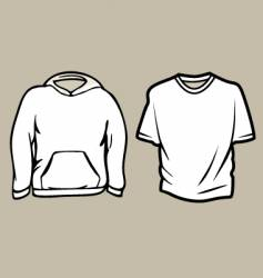apparel sketch template vector image