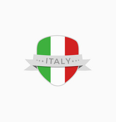 made in italy logo vector image
