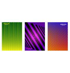 minimal covers geometric design vector image vector image