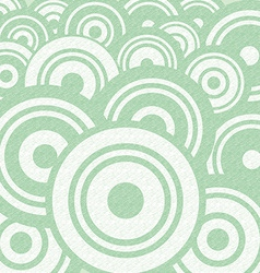 Abstract Retro Circle Flat Design Background vector