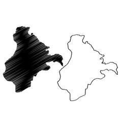 Ardahan map vector