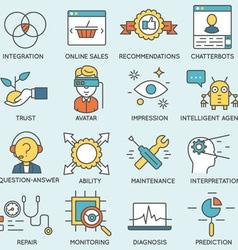 Customer relationship management - part 5 vector