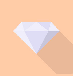 diamond icon set of great flat icons with style vector image