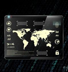 Digital background Stock vector