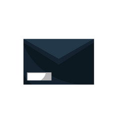 envelope office work business equipment icon vector image