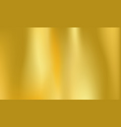 Gold foil background golden metal holographic vector