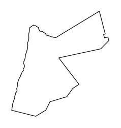 jordan map of black contour curves of vector image
