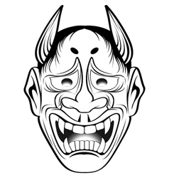 kabuki 2 vector image