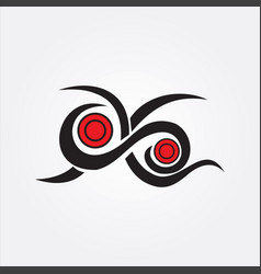 tribal tattoo image vector image