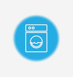 washing machine icon sign symbol vector image