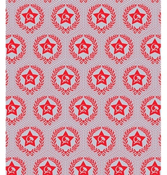 red star seamless vector image