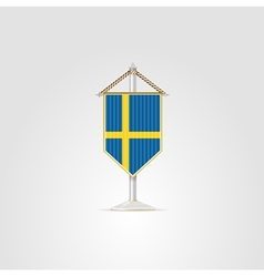 national symbols of European countries Sweden vector image vector image