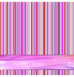 retro striped vector image vector image